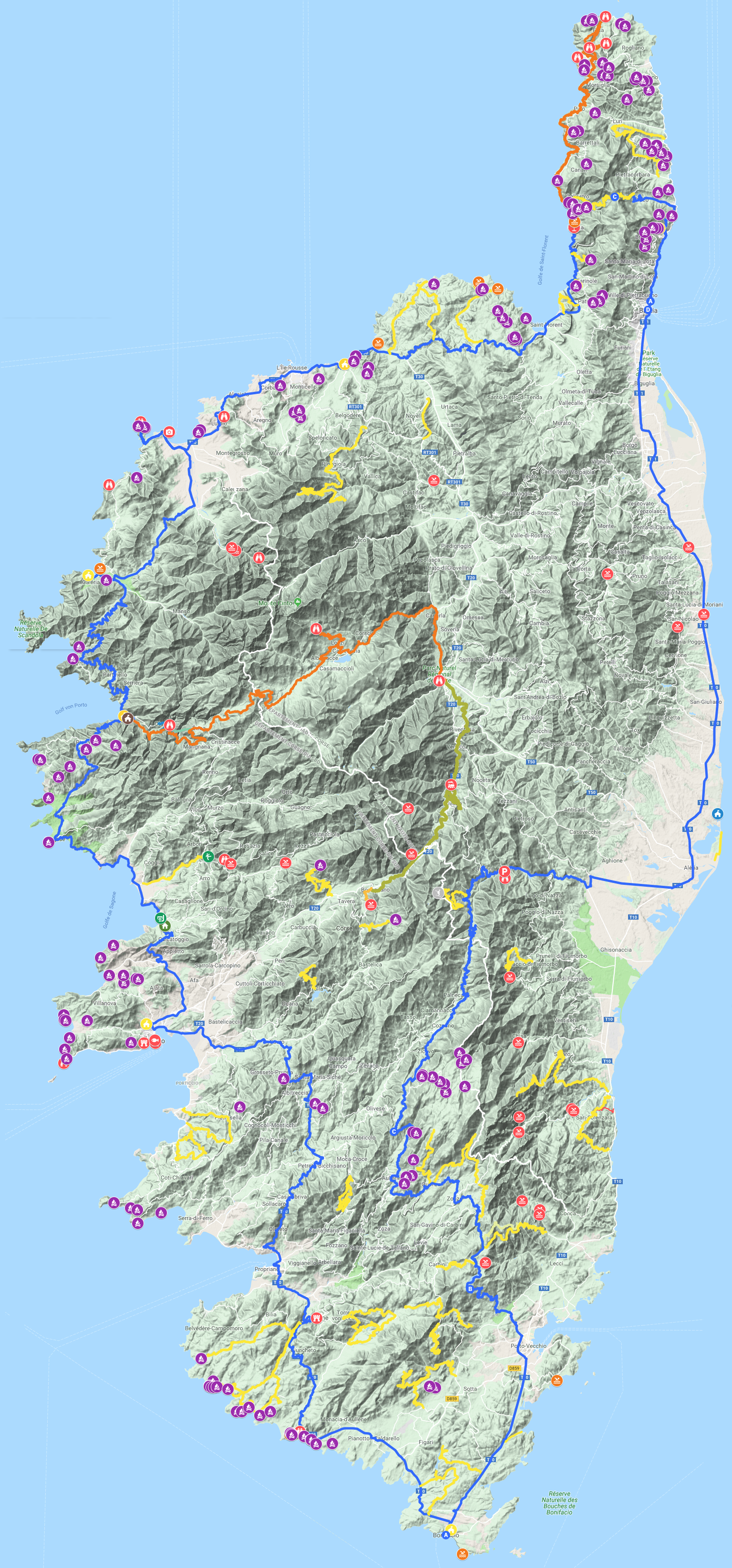 Korsika Reiseplanung