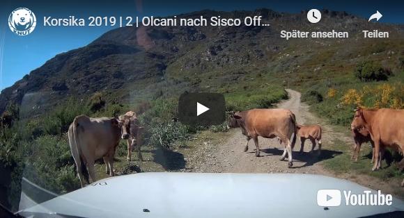 Korsika 2019   2   Olcani nach Sisco Offroad Tour   Mit Knut unterwegs