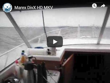 Mit der Marex über den Woblitzsee