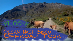 Korsika 2019 | 2 | Olcani nach Sisco Offroad Tour | Mit Knut unterwegs